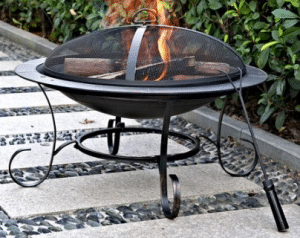 Andover Round Steel Fire Pit