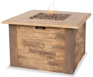 uniflame-gas-faux-stone-fire-pit