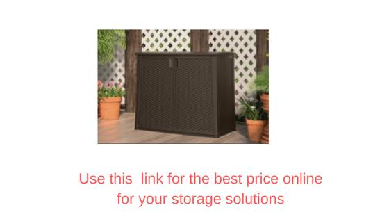 Outdoor vertical storage solutions