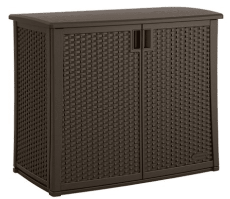 Suncast 97 gallon java storage container