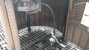 Outdoor Gas Fire Pit-Colebrook Gas Fire Pit Controls