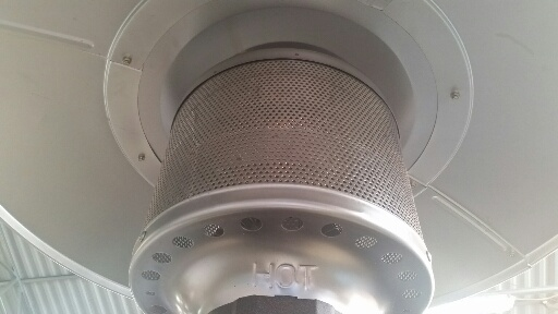 Burner of patio heater