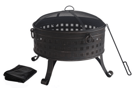 Antique 26″ Round Steel Fire Pit-for your outdoor space