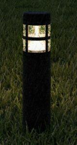 Led Bollard Landscape Lights-Pure Garden solar path light