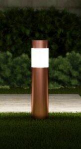 Led Bollard Landscape Lights-Path lights set of 6 in copper finish