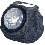 Pure Garden Rock Solar Spot Light