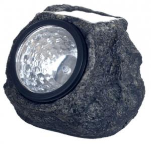 Pure Garden Rock Solar Spot Light