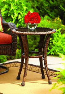 Azalea Ridge Round Patio Side Table