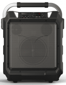 Front of Monster portable speaker