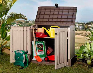 Keter outdoor storage cabinet 30 cubic foot