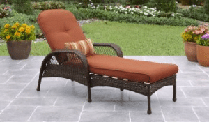 Wicker patio furniture sets-Azalea Ridge chaise lounge