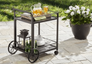 Carter Hills serving cart