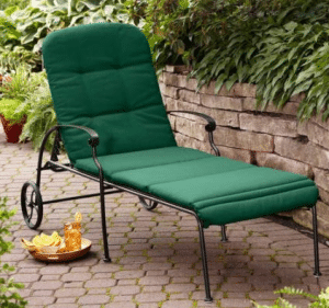 Outdoor Wrought Iron Patio Furniture-Clayton Court Patio Lounger