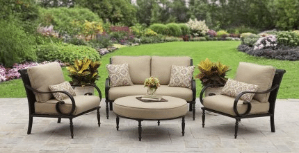 Englewood 4 piece patio conversation set