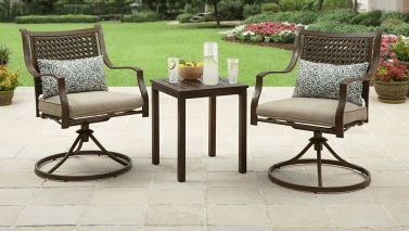 Small Patio Furniture in the Lynnhaven Park Collection