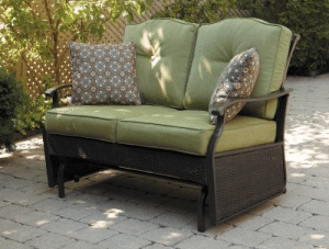Providence 2 seat outdoor glider bench