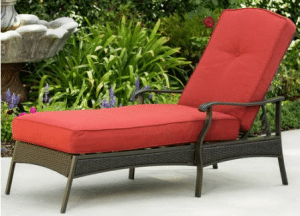 Outdoor Patio Furniture Set-Providence chaise lounge