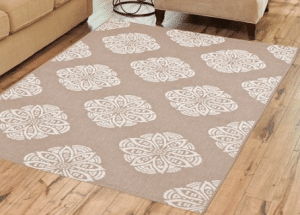 BH & G Medallion outdoor rug
