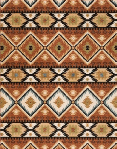 BH & G Southwest Diamonds outdoor rug