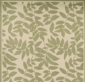 Mainstays All Ove Leaf outdoor rug