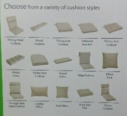 Walmart replacement cushion styles