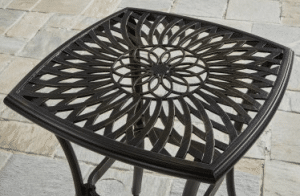 BH & G Warrens patio bistro table