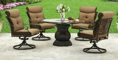 Better Homes and Garden Bailey Ridge aluminum patio furniture collection