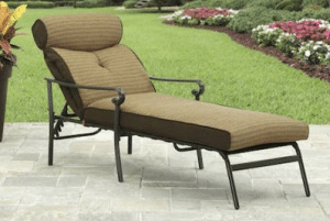 Better Homes and Garden Bailey Ridge chaise lounge