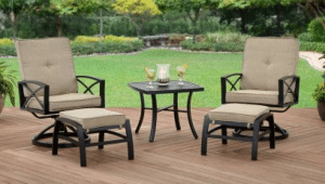 Better Homes and Garden Douglas Lane patio leisure set