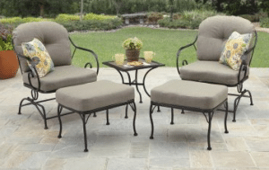 Better Homes and Garden Myrtle Creek patio leisure set