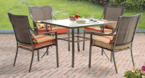 Mainstays Alexandra Square dining set