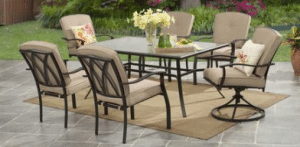 Mainstays Belden Park 7 piece dinig set