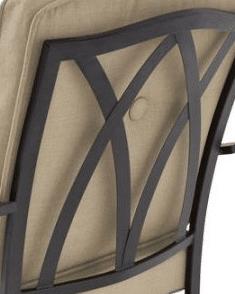 Mainstays Belden Park decorative seat back