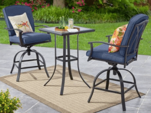 Mainstays Belden Park tall bistro set
