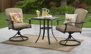Mainstays Belden Park tan bistro set