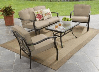 Mainstays Belden Park metal outdoor patio sets