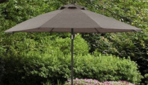 Mainstays Bristol Springs 8 foot patio umbrella