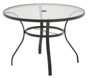 Mainstays Bristol Springs glass top table