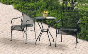 Mainstays Jefferson 3 piece bistro set