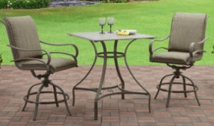 Mainstays Laurel Grove tall bistro set