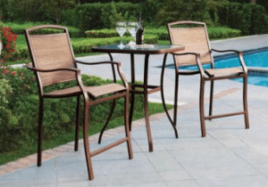 Mainstays Sand Dune tall bistro set