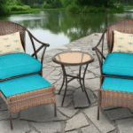 Mainstays Skylar patio leisure set, blue