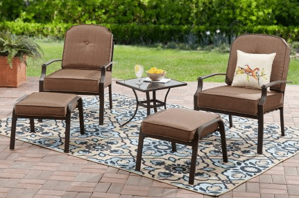 Mainstays Wentworth patio leisure set