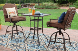 Mainstays Wentworth tall bistro set