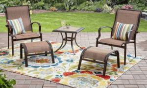 Mainstays Wesley Creek patio leisure set