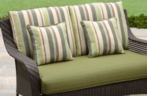 BH & G Amelia Cove love seat with cushions