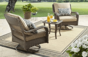 BH & G Colebrook Outdoor Wicker Patio Furniture Sets