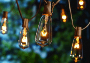 Edison outdoor string lights 10 pack
