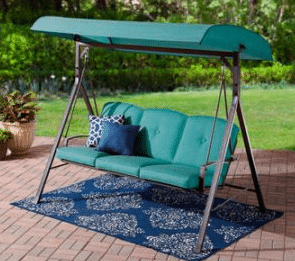 Product: Mainstays Forest Hills 3 Person Swing