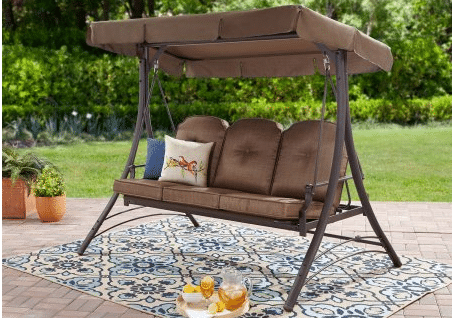 Mainstays Wentworth 3 person outdoor hammock swing